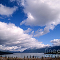 Clouds Over Lake Quinault by Tracy Knauer