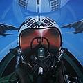 Colonel Dave Dollarhide by Richard John Holden RA