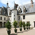 Courtyard Chateau Chaumont by Christiane Schulze Art And Photography