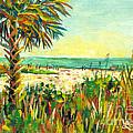 Crescent Beach Palm by Lou Ann Bagnall