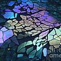 Cut Glass Mosaic  by Kathy DesJardins