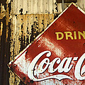Drink Coca Cola  Memorbelia by Bob Christopher