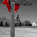 Mission San Juan Easter Cross by David and Carol Kelly