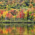 Echo Lake Fall Reflections by John Vose