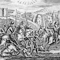 English Soldiers Under Edward  IIi by Mary Evans Picture Library