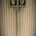 Film Noir Sidney Greenstreet   Mask Of Demetrious 1944 Sid Bruce's Sculptures Black Canyon Az 1991 by David Lee Guss