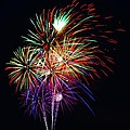 Fireworks Across The Bay by William Bartholomew