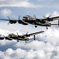 Flying Lancasters by J Biggadike