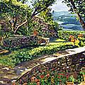 Garden Stairway by David Lloyd Glover
