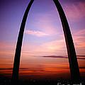 Gateway Arch Sunrise by Tracy Knauer