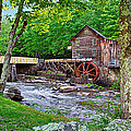 Glade Creek Gristmill by Mary Almond