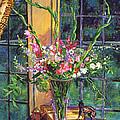 Gladiola Arrangement by David Lloyd Glover