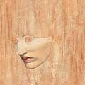 Head Of Proserpine by Dante Charles Gabriel Rossetti