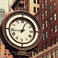 Historic Clock Of The Fifth Avenue by Jaroslav Frank