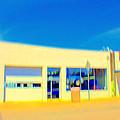 Hopper Garage by Terence Morrissey
