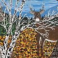 Hunter's Deer Camp by Jeffrey Koss