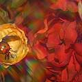 Impressionistic Bouquet Of Red Flowers by Dora Sofia Caputo Photographic Design and Fine Art