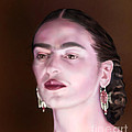 In The Eyes Of Beauty - Frida by Reggie Duffie