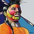 Indian Portrait by Joe  Triano