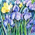 Irises  by Trudi Doyle
