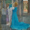 Isabella And The Pot Of Basil by Edward Reginald Frampton