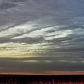 Kansas Prairie Grass Sunrise by PainterArtist FIN