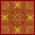 Keltic Cross by I'ina Van Lawick