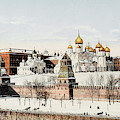 Kremlin  In Winter        Date 1908? by Mary Evans Picture Library