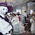 Kuvasz Art Canvas Print by Sandra Sij