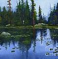 Lake Reflections by Sheryl Heatherly Hawkins