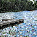 Left Boat Dock by Tina M Wenger