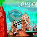 London by Jan Raphael