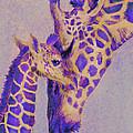 Loving Purple Giraffes by Jane Schnetlage