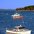 Maine Lobster Boat by Olivier Le Queinec