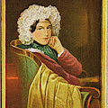 Marie Daffinger  Wife Of Artist by Mary Evans Picture Library