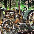 Mccormick Deering Tractor by Todd Carter