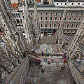 Milan From The Roof by Susan Rovira