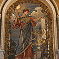 Minerva Of Peace Mosaic by Christiane Schulze Art And Photography