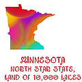 Minnesota State Map Collection 2 by Andee Design
