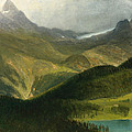 Mountain Landscape by Albert Bierstadt