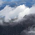 Mt. Bierstadt In The Clouds by Jim Garrison