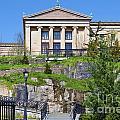 Museum Of Art Philadelphia Pa by David Zanzinger