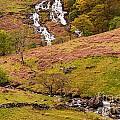 Nant Gwynant Waterfalls Iv by Maciej Markiewicz