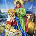 Nativity Of Jesus by Patrick Hoenderkamp