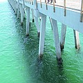 Navarre Beach Fishing Pier by Michelle Powell