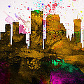 New Orleans City Skyline by Naxart Studio