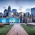 New Romare-bearden Park In Uptown Charlotte North Carolina Earl by Alex Grichenko