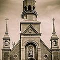 Notre-dame-de-bon-secours Chapel  by Bianca Nadeau