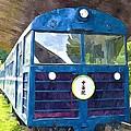 Old Train by Jeelan Clark