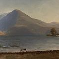 On The Hudson by Albert Bierstadt
